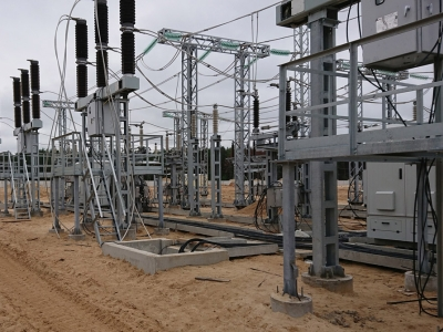 Commissioning of 330 kV digital substation Metallurgicheskaya